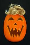 jack o lantern toupee poster