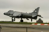 the last sea harrier lands poster