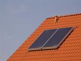 solar - dachschräge poster