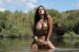 sexy girl in bikini poster