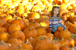 pumpkin patch girl