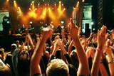 Fototapety crowd in motion blur