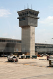 airport tower poster
