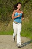 woman running poster