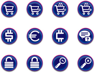 ecommerce icons - set 1