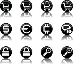 ecommerce icons - set 2