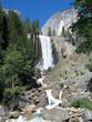 Detaily fotografie nevada falls, yosemite