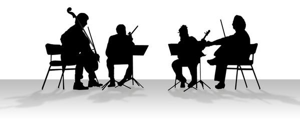 quartet in shadow