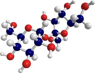 molecule of sucrose