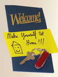 welcome packet poster