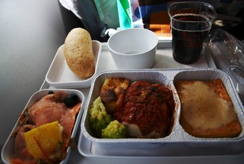 lanch in the aircraft