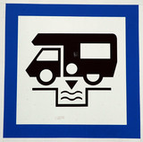 motorhome service sign