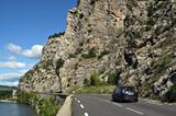 route de montagne poster