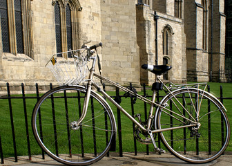 college bicycle