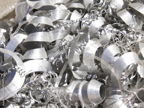 Leinwandbild Motiv peulures métaliques