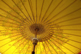 thailand, chiang mai: umbrella makers poster