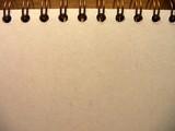 spiral notebook blank poster
