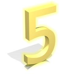 3d gold five