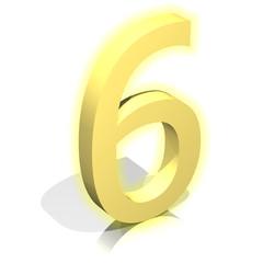3d gold six