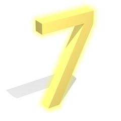 3d gold seven