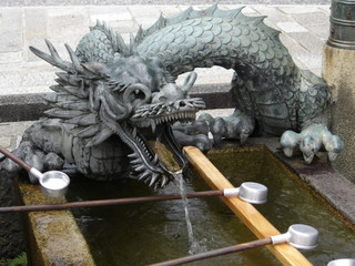 dragon at the temple gates