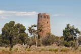 anasazi tower at grand canyon, arizona poster