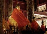 thailand, lampang: wat phra that lampang luang temple poster