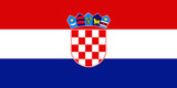 flag of croatia poster