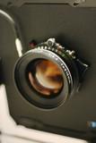 large format camera lens poster