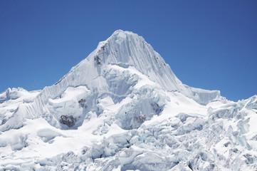 snow mountain alpamayo
