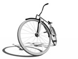 Fototapety classic bicycle