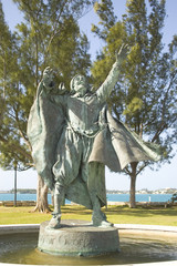statue of sir george sommers, bermuda