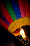 hot air balloon torch poster