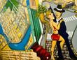 Quadro tango graffiti