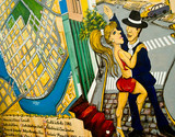 Fototapeta boca - kolor - Budynek