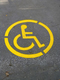 wheelchair symbol poster