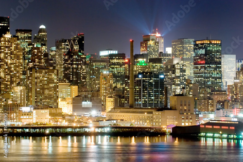Fototapety, obrazy : manhattan at night