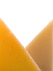 abstract close up cheese