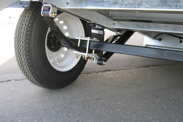 trailer's suspension