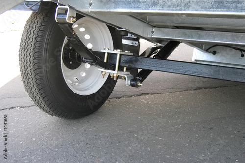 trailer's suspension - 1431661