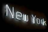 Fototapety new york neon sign