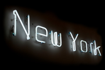 new york neon sign