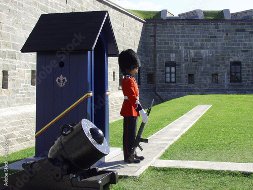 guardsman and sentry box