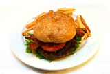 homemade hamburger poster