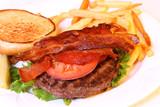 open hamburger poster