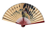 oriental fan poster