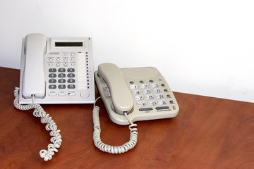 network office- ordinary office telephones