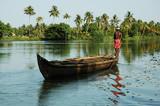 india, kerala: landscape poster
