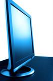 blue toned single lsd screen poster