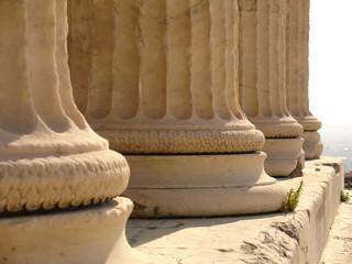 colonnes du temple d'athéna niké